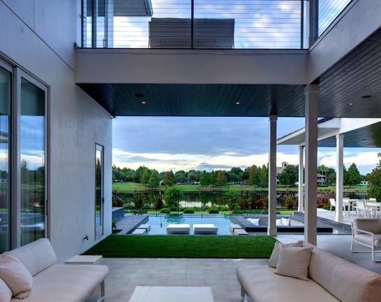 Viviendas modernas diseos de fachadas de casas modernas for Viviendas unifamiliares modernas