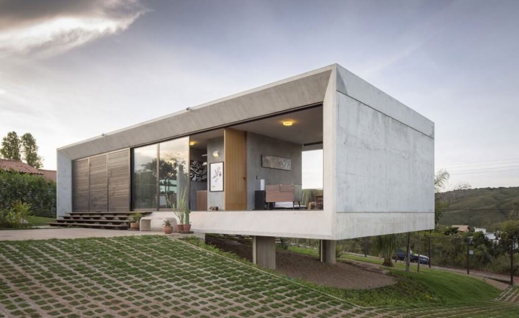 Construir casa moderna cheap think different with for Casas modernas para construir