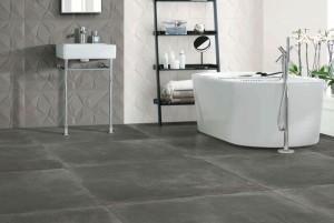 revestimientos con textura para la pared del baño