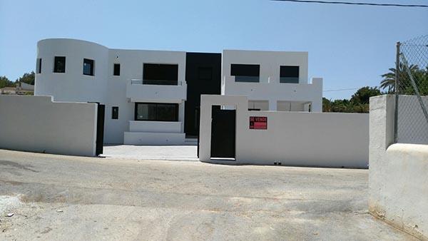 construcción de vivienda en moraira